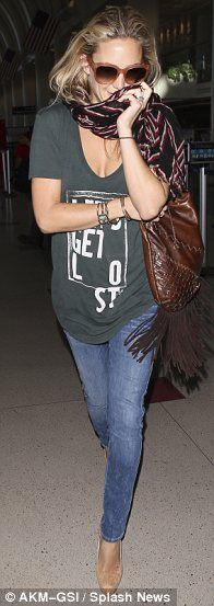 Kate Hudson's casual style x.