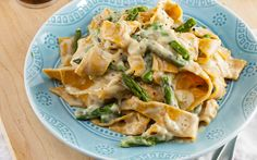 Cauliflower takes the place of cashews in this recipe to make a rich and creamy alfredo sauce that you can make in big batches and freeze for later use.