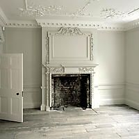 Cream and White Moulding in a London Gallery Space