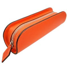 Beautiful leather pen case