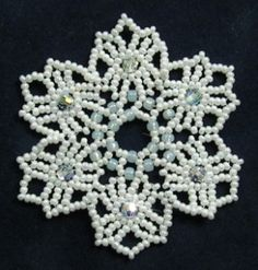 Snowflake #97 Ornament Pattern
