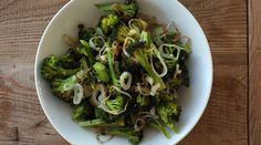 Roasted Broccoli with Shallots & Garlic : Recipes : do it Delicious