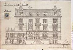 """Villa Aufschnaiter ora si chiama Grieshof si trova a Gires ( bolzano ) qui nacque la figlia di Adelgonda . Bozzetto Era la residenza """"più calda invernale"""" Attaulamente è stata trasformata in una pensione per gli anziani dopo essere stata una residenza degli AsburgoCi hanno soggiornato molte personalità così come : Adelgonda, anche Stefania del Belgio da vedova, in fuga dalla corte viennese che l'aveva ancora più isolata."""