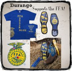 """durango ffa"" by flirtwithdurango ❤ Great outfit :) Santa Wish List, Architecture Tattoo, Ffa, Blue Gold, Agriculture, Art Quotes, Environmental Education, Food Safety, Biotechnology"