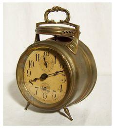 Antiker Wecker Alarm Clock Junghans Sirene UM 1900 Sehr Selten   eBay