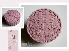 Double Happiness Silicone Soap Mold