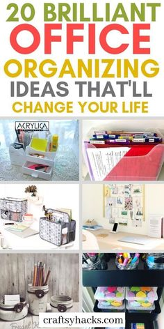 20 Amazing Office Organizing Hacks Learn How To Organize An Office? 20 Amazing Office Organizing Hacks Learn How To Organize An Office? Here are some organizational ha