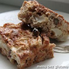 menu bez glutenu: bardzo łatwe ciasto z jabłkami Sugar Free, Banana Bread, Gluten Free, Food, Glutenfree, Essen, Sin Gluten, Meals, Yemek