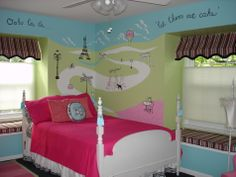 If only I had the little girl to go along with the room.