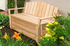 Photo: Kolin Smith | thisoldhouse.com | from How to Build a Cedar Compost Bench