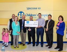 New York Life Insurance Co. awarded East Tennessee Children's Hospital a $25,000 grant to establish food pantries. Read more at http://www.etch.com/articles/new_york_life_awards_25000_grant_to_childrens_hospital.aspx