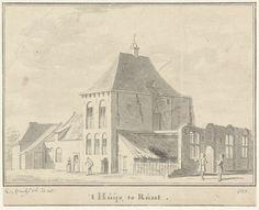 Cornelis Pronk | Het Huis te Rumpt, Gelderland, Cornelis Pronk, 1728 |