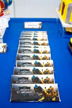 5th Transformers Birthday!  | CatchMyParty.com