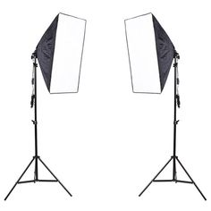 97.01$  Buy here - http://aliqo2.worldwells.pw/go.php?t=32389123613 - Photography Studio Continuous Soft Box Lighting Kits 50x 70cm Softbox*2+Light Stand*2 Photo Studio Set Hot Selling