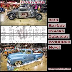 The 2018 Royboy Trucks Calendars are now available at royboyproductions.com http://ift.tt/2BnLkSy