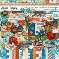 Sweet Shoppe Designs :: NEW Releases :: New Releases - 7/19 :: Great Outdoors: Escape Bundle by Kristin Cronin-Barrow