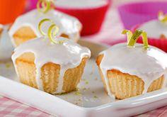 Mini bolo fofo de limão