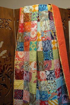 Charm Squares Patchwork Amy Butler and Anna by RachaelAnneBird, $200.00