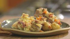 Ribs, Baked Potato, Potato Salad, Potatoes, Baking, Ethnic Recipes, Food, Coleslaw, Carrot