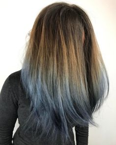 But the great thing about this trend is that it's extremely versatile. | 16 Original Ways To Give Your Hair A Touch Of Blue This Month