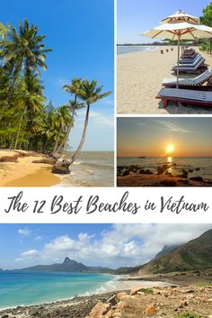The Top 12 Beaches in Vietnam. Click on the post to see where they are!