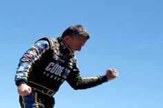 Tony Stewart Photos - Tony Stewart, driver of the #14 Code 3 Assoc/Mobil 1 Chevrolet, celebrates in victory lane after winning the NASCAR Sprint Cup Series Toyota/Save Mart 350 at Sonoma Raceway on June 26, 2016 in Sonoma, California. - NASCAR Sprint Cup Series Toyota/Save Mart 350