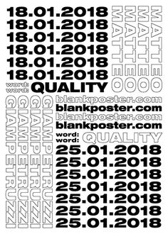 Home - Blank Poster