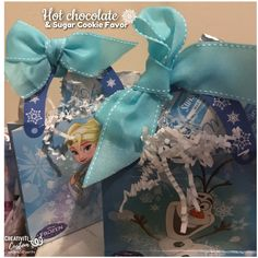 Hot Chocolate Party Favor