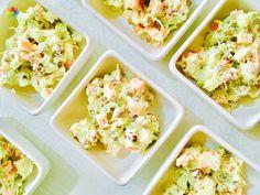 Ensalada: #Rusa de arvejas morenas germinadas, zanahoria y zucchini con mayonesa de girasol, realizada en clase 5 http://www.conscienciaviva.com/