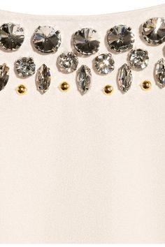 By Malene Birger | Livisa embellished crepe dress | NET-A-PORTER.COM