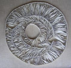 Fenella Elms - Ceramics Artist - Edges OMG. This is ceramic!