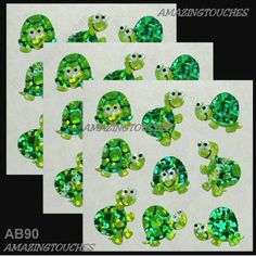 Sandylion Scrapbooking Craft Cute Turtle Sticker AB-90-3 #Sandylion