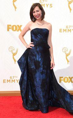 Kristen Schaal from 2015 Emmys: Red Carpet Arrivals  In Rubin Singer