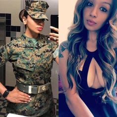 Sexy women who look great in their uniforms and hot out of them : theCHIVE Military Women, Military History, Military Girl, Trucks And Girls, Female Soldier, Girls Uniforms, Woman Crush, Country Girls, Looking For Women