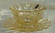 Cambridge Cascade Mandarin Gold Mayo Bowl & Liner