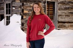 Alyssa's winter senior session #seniorphotography #simplysouthern
