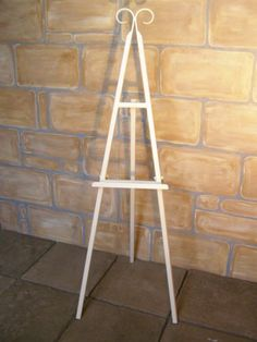 Ex Hire Wedding Cream Easel Stand Table Plan Display Made In The Uk