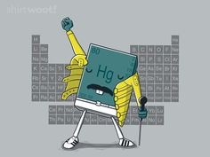 Freddy Mercury [Mendeleev Tribute] by VovaShirts