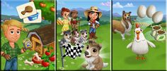 Hurryyyyy! Good news to everyone the farmville 2 dogs coming soon into the game.Farmville 2 and zynga have introduce the new Dogs Feature in the game and will be releasing very soon