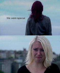 Naomi Campbell (Lily Loveless) & Emily Fitch (Kathryn Prescott) by quicheisinsane, via Flickr