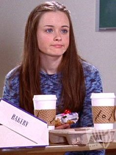 My favourite fictional character is none other than Rory Gilmore from Gilmore Girls! She is the perfect inspiration.