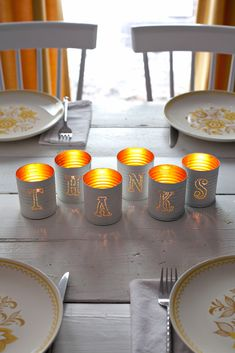 Tin punched votive candles will light up your wedding guests' tables when the sun goes down after the ceremony. Source: A Beautiful Mess Easy Christmas Cookie Recipes, Christmas Crafts To Sell, Christmas Crafts For Toddlers, Tin Can Crafts, Easy Fall Crafts, Fun Diy Crafts, Christmas Tree Decorations, Fall Crafts For Adults, Handmade Christmas