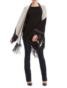 A best seller comeback, the Colorblock Fringe Scarf will be your most versatile…