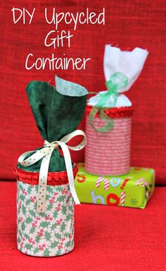 Go green this Christmas and make your own DIY gift container and fill it with plenty of  Energizer® EcoAdvanced™ batteries  #PowerYourHoliday #ad