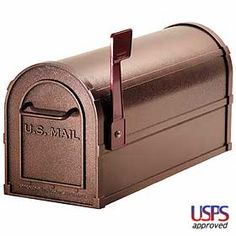 Deluxe Rural Mailbox. Classy and very durable. Everything Ships for Free.