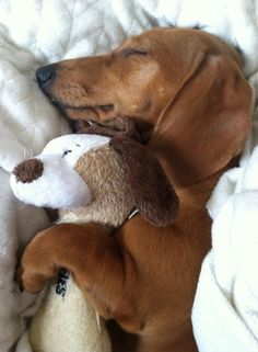 snuggling with her baby