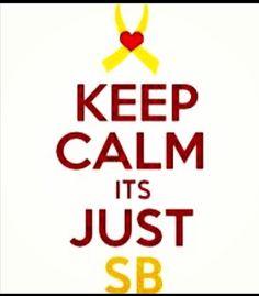 Keep Calm, it's just SB