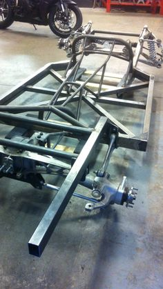 Custom Chevy truck chassis I built