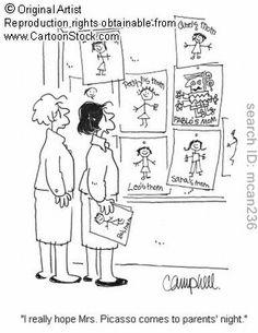 Art teacher humor...Lol!
