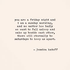 Original Poetry by Jessical Katoff - http://instagram.com/jessicakatoff